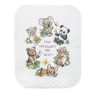 Dimensions Dimensions Borduurkit Quilt Baby Animals 0174324