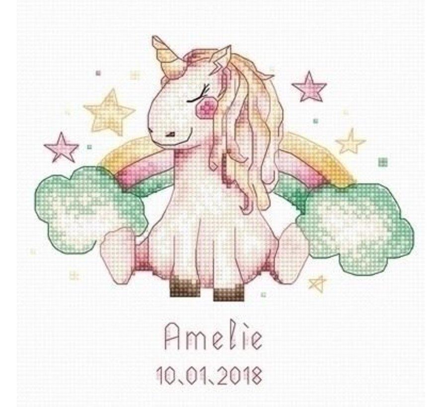 Luca S Geboortetegel Unicorn b1151