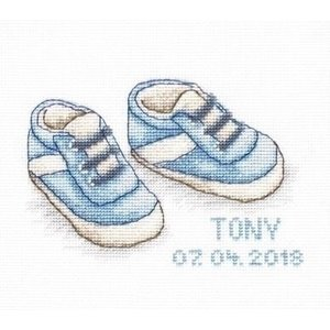 Luca S Luca S Geboortetegel Baby Shoes b1138