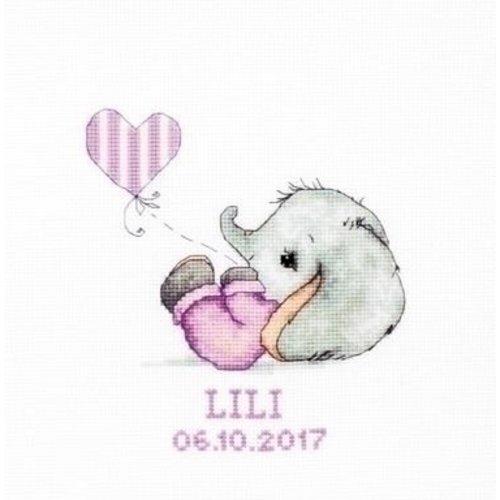 Luca S Luca S geboortetegel Baby Girl ls-b1133