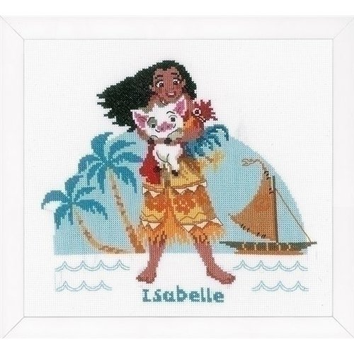 Vervaco Disney borduurpakket The Ocean is calling 0168045