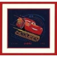 Lightning McQueen met gierende banden 0167543