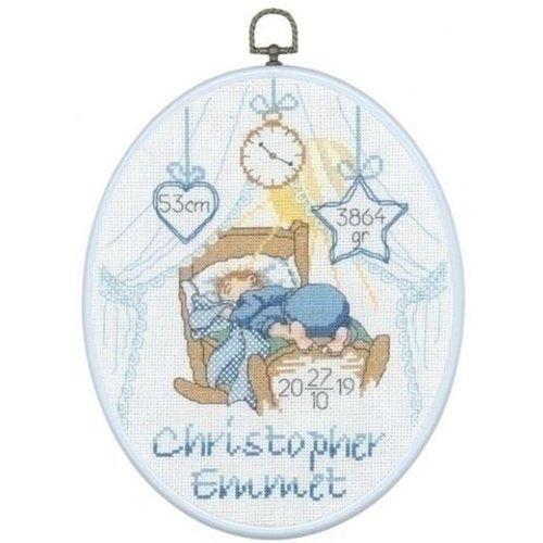Permin Borduurpakket geboorte Christopher Emmet 92-6862