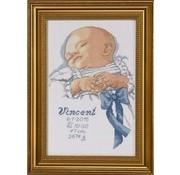 Permin Permin geboortetegel Baby Boy 92-2767