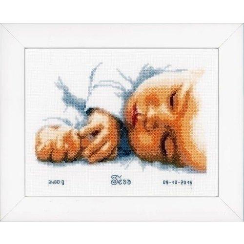 Vervaco Vervaco geboortetegel Pasgeborene 0154563