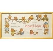 Permin Borduurpakket Bobbi Happy Friends Marilene 12 8451