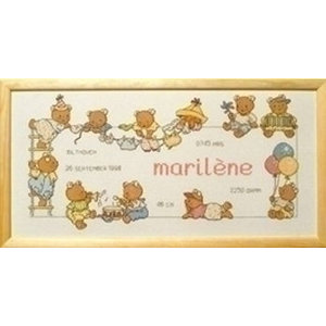 Permin Borduurpakket Bobbi Happy Friends Marilene 12 8451