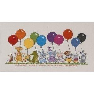 Permin Borduurpakket Bobbi De ballonnen 92 0396