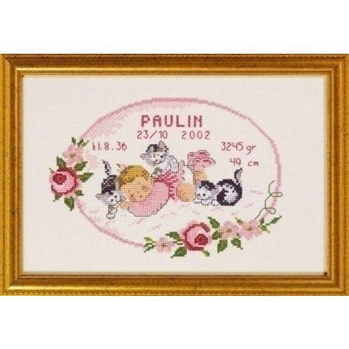 Permin Permin geboortetegel Baby Paulin 12 3603