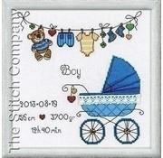 Riolis Riolis borduurpakket It's a Boy 1418