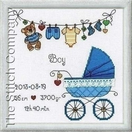 Riolis Riolis borduurpakket It's a Boy 1418