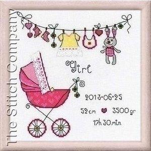 Riolis Riolis borduurpakket It's a Girl 1417