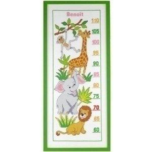 Pako Pako borduurpakket meetlat dieren 223.760