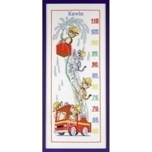 Pako Pako borduurpakket meetlat brandweer 223.761
