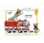 Vervaco Vervaco geboortetegel Brandweer James PN 0145601