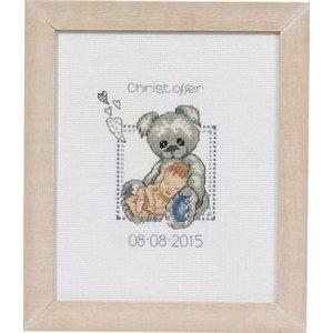 Permin Permin geboortetegel Teddy Christoffer 92-5149
