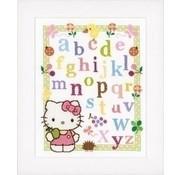 Vervaco Hello Kitty borduurpakket Alfabet 0148694