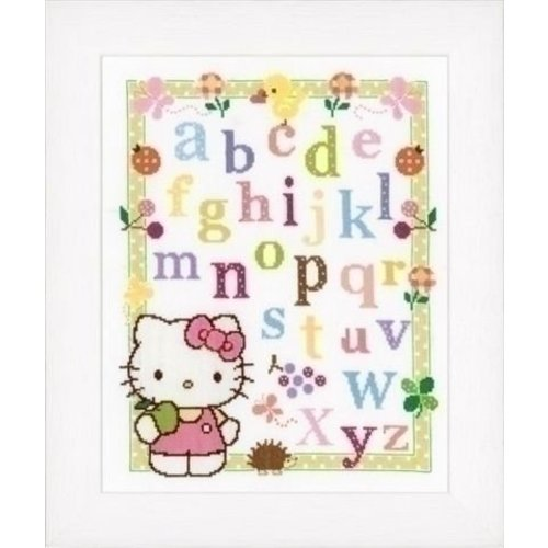 Vervaco Hello Kitty borduurpakket Alfabet 0148694