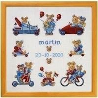 Permin borduurpakket geboorte Martin 12-0441