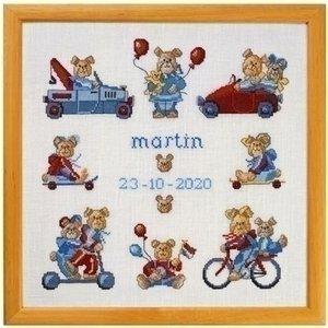 Permin Permin borduurpakket geboorte Martin 12-0441