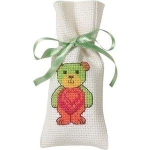Permin Permin geurzakje teddy met hart 31-5144