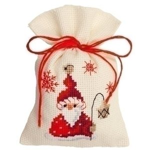 Vervaco Kruidenzakje Kerst met Kerstman 0144300