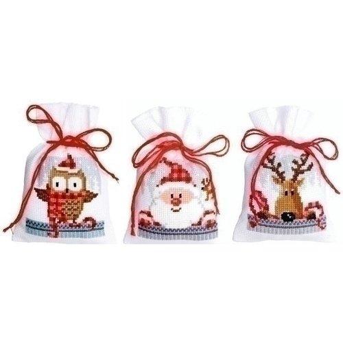 Vervaco Geurzakjes Kerstfiguren II set van 3 0149462