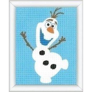 Vervaco Penelope borduurpakket Disney Olaf 0169771 Vervaco