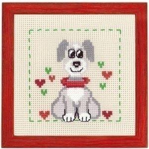 Permin Permin borduurpakket Hond 13-7380