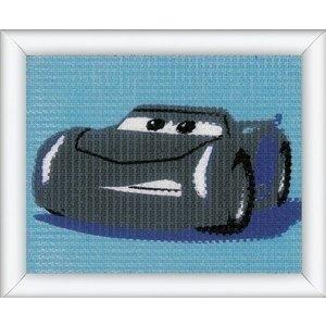 Vervaco Disney Cars borduurpakket Jackson Storm 0167588