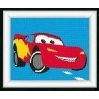 Vervaco borduurpakket Lightning McQueen 0014542