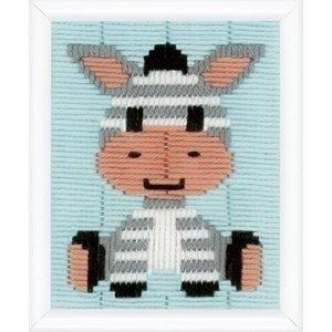 Vervaco Vervaco borduurpakket Zebra 0148073