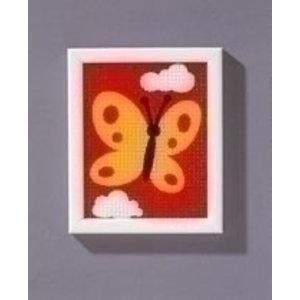 Vervaco Borduurpakket vlinder 0009581