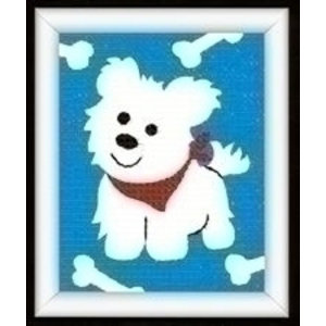 Vervaco Borduurpakket hond 0009586