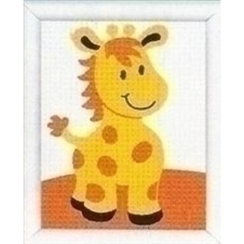 Vervaco Borduurpakket giraf 0009591
