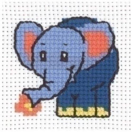 Permin Permin borduurpakketje olifant 3330