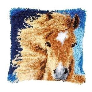 Vervaco Vervaco Smyrna Knoopkussen Bruin paard 0149848