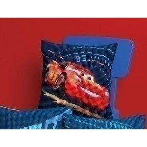 Vervaco Walt Disney kussen Lightning McQueen 0166441