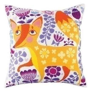 RTO RTO borduurpakket kussen Foxy Beauty cu009