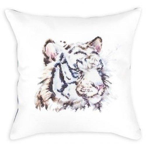 Luca S Luca S Cushion White Tiger pb144