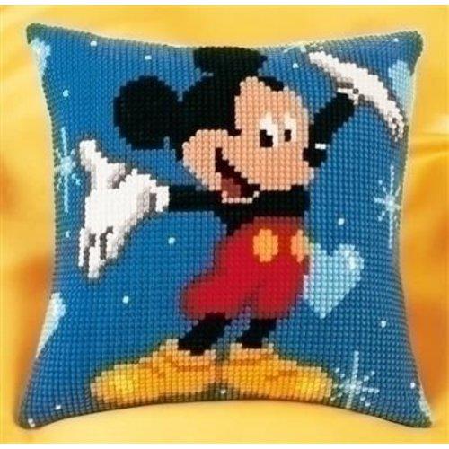 Vervaco Vervaco borduurkussen Mickey Mouse 0014602