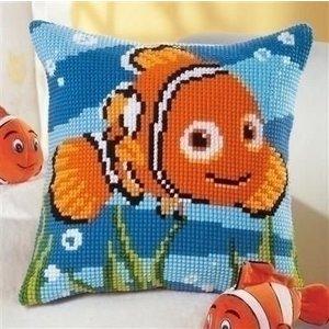 Vervaco Vervaco borduurkussen Nemo 0014574