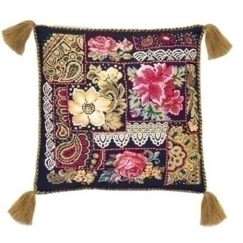 Riolis Riolis borduurpakket kussen Flower Arrangement 761