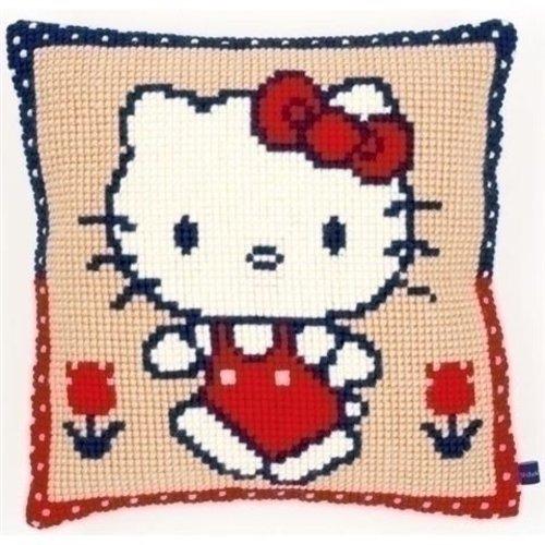 Vervaco Borduurkussen Hello Kitty 0153864