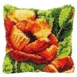 Vervaco Smyrna knoopkussen bloem 0014175