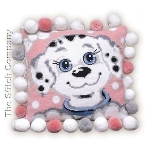 Riolis Riolis borduurkussen Dalmation Dog Cushion 370