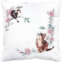 Luca S Cushion Cat & Bird ls-pb108