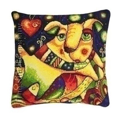 Riolis Riolis borduurkussen Milky Way Cushion 1093