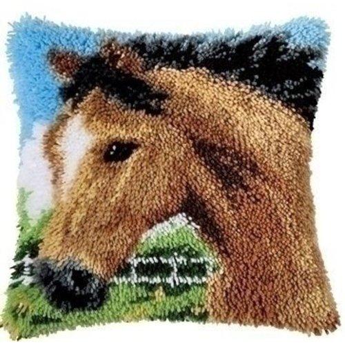 Vervaco Smyrna knoopkussen Paard 0014184