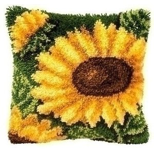 Vervaco Smyrna knoopkussen zonnebloemen 0014176